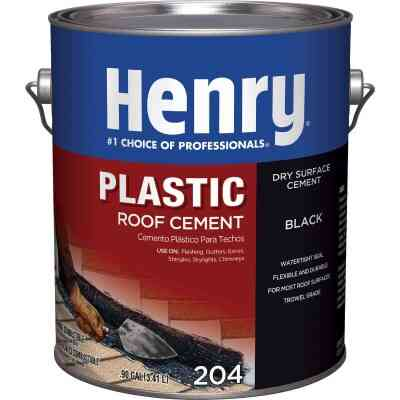 Henry 1 Gal. Plastic Roof Cement and Patching Sealant