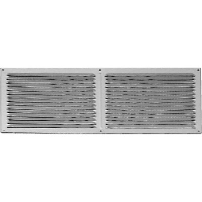 NorWesco 16 In. x 6 In. Galvanized Soffit Ventilator