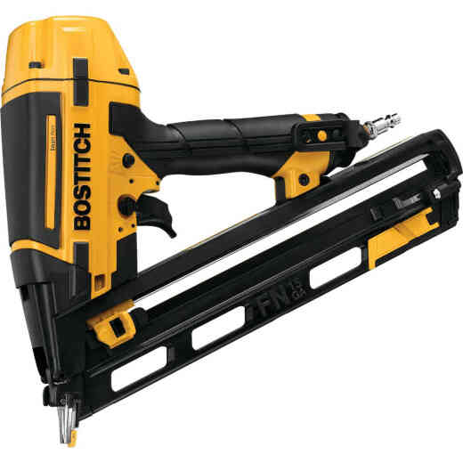 Bostitch Smart Point 15-Gauge 2-1/2 In. Angled Finish Nailer Kit