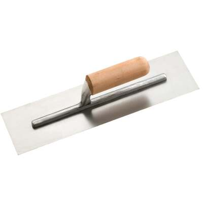Do it 4 In. x 14 In. Finishing Trowel with Basswood Handle