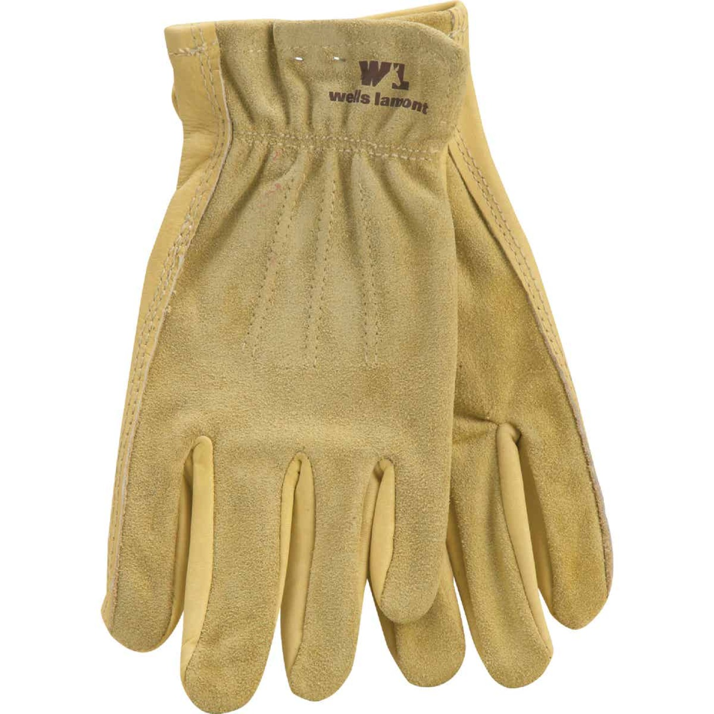 Wells Lamont Women's Medium Grain Cowhide Leather Work Glove Image 1