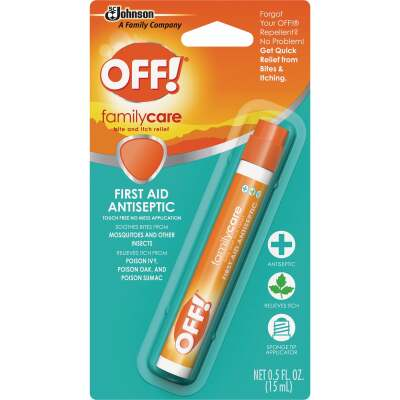 Off Family Care 0.5 Oz. Benzocaine Insect Bite & Itch Relief